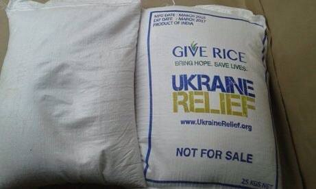 Give Rice Project by Ukraine Relief